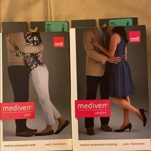 Mediven compression stockings and socks